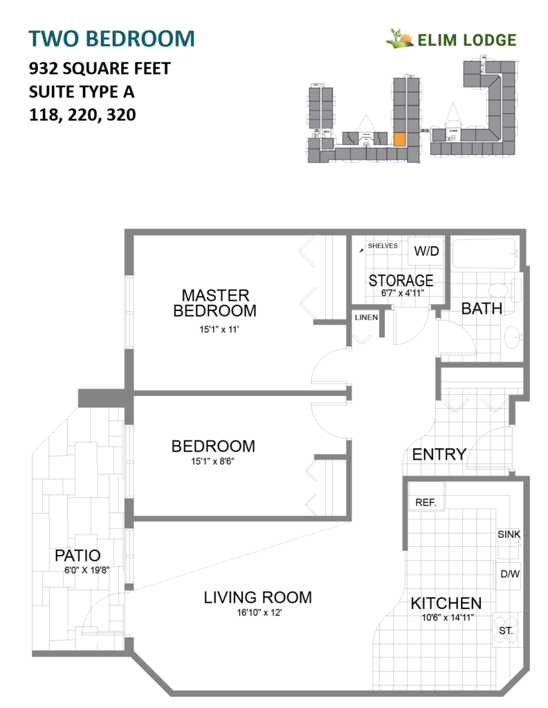 Elim Lodge Rooms 118-220-320
