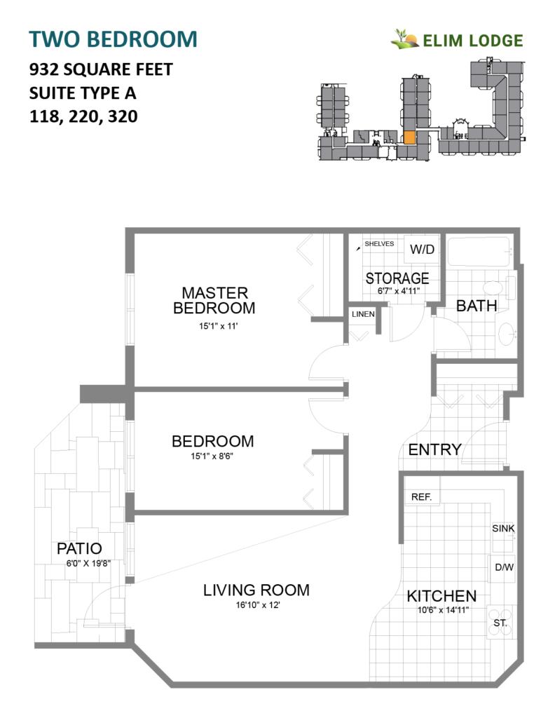 Room 118 at Elim Lodge