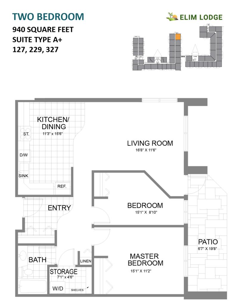 Elim Lodge Rooms 127-229-327