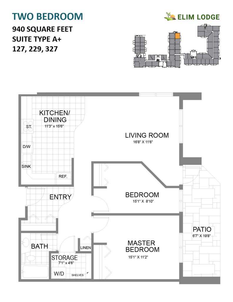 Elim Lodge Room 127