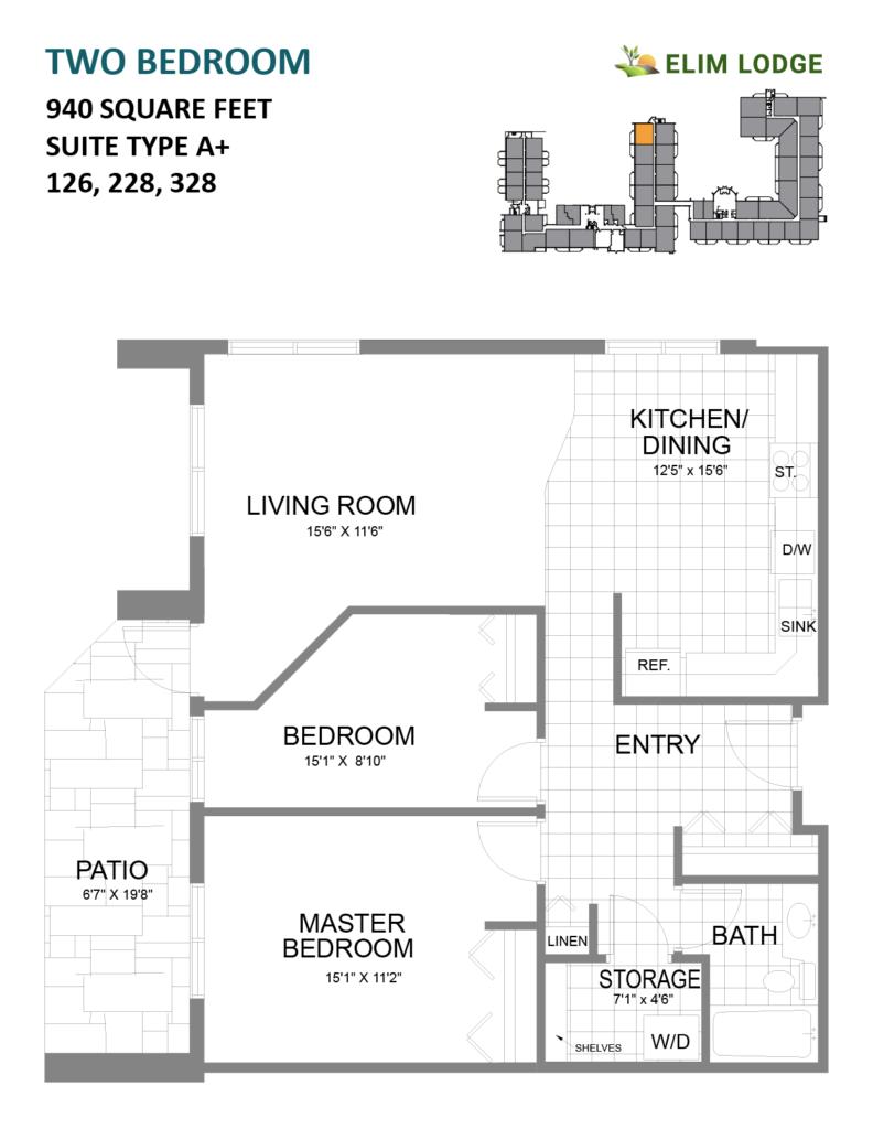 Elim Lodge Room 126