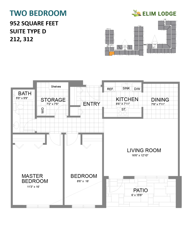 Elim Lodge Room 312