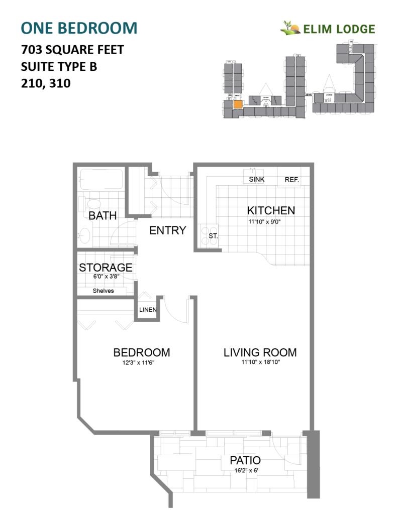 Elim Lodge Rooms 210-310