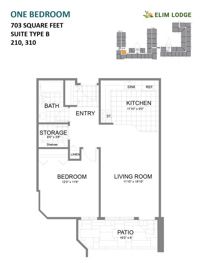 Elim Lodge Rooms 210, 310