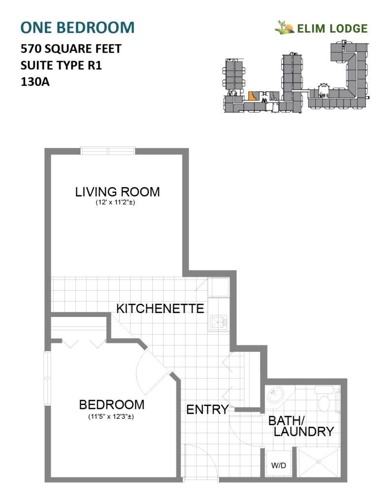 Elim Lodge Room 130A