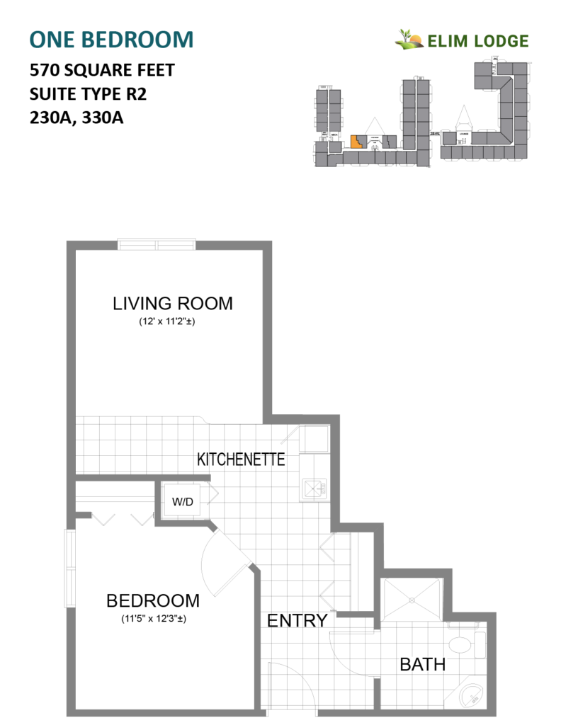 Elim Lodge Rooms 230A, 330A
