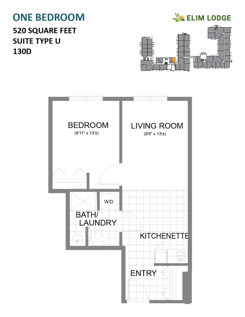 Elim Lodge Room 130D