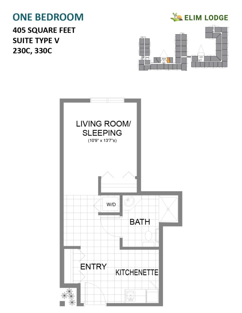 Elim Lodge Rooms 230C, 330C