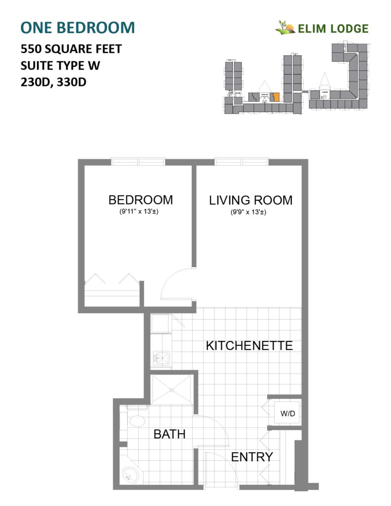 Elim Lodge Rooms 230D, 330D