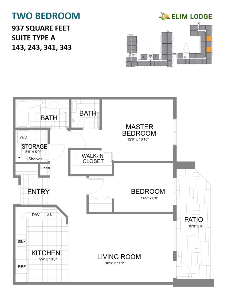 Elim Lodge Senior Suites 937-143-243-341-343