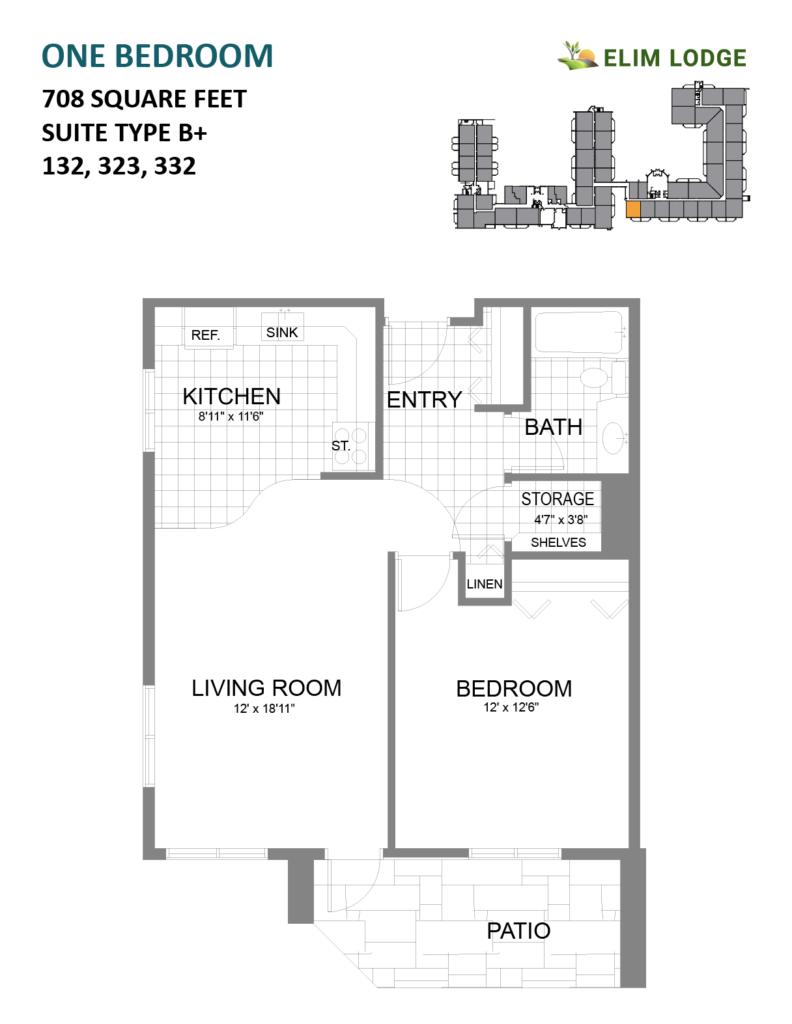 Elim Lodge Room 132
