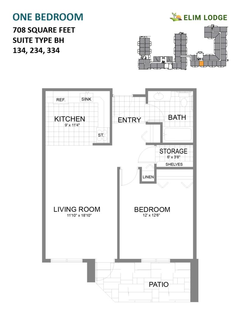 Elim Lodge Room 134