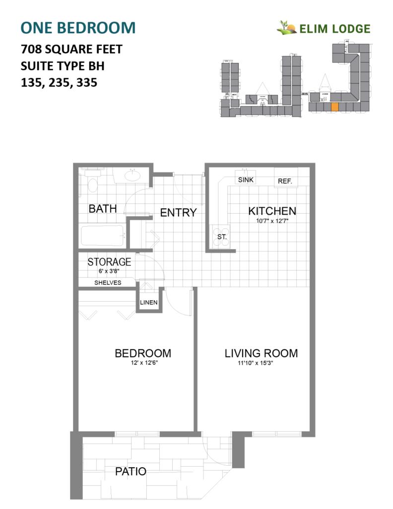 Elim Lodge Suites 135-235-335