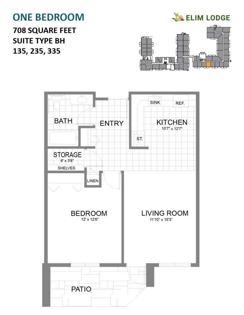 Elim Lodge Room 135