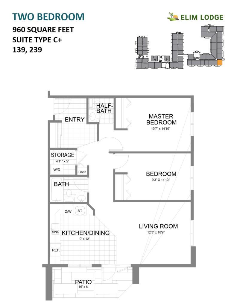 Elim Lodge Room 139