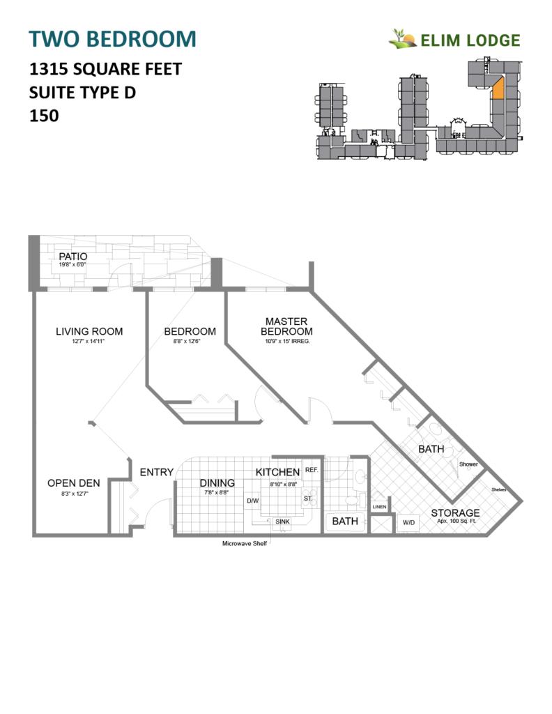 Elim Lodge Room 150