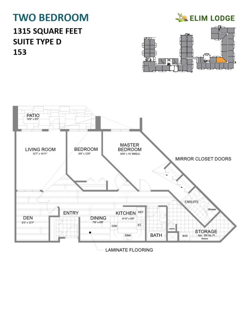 Elim Lodge Room 153