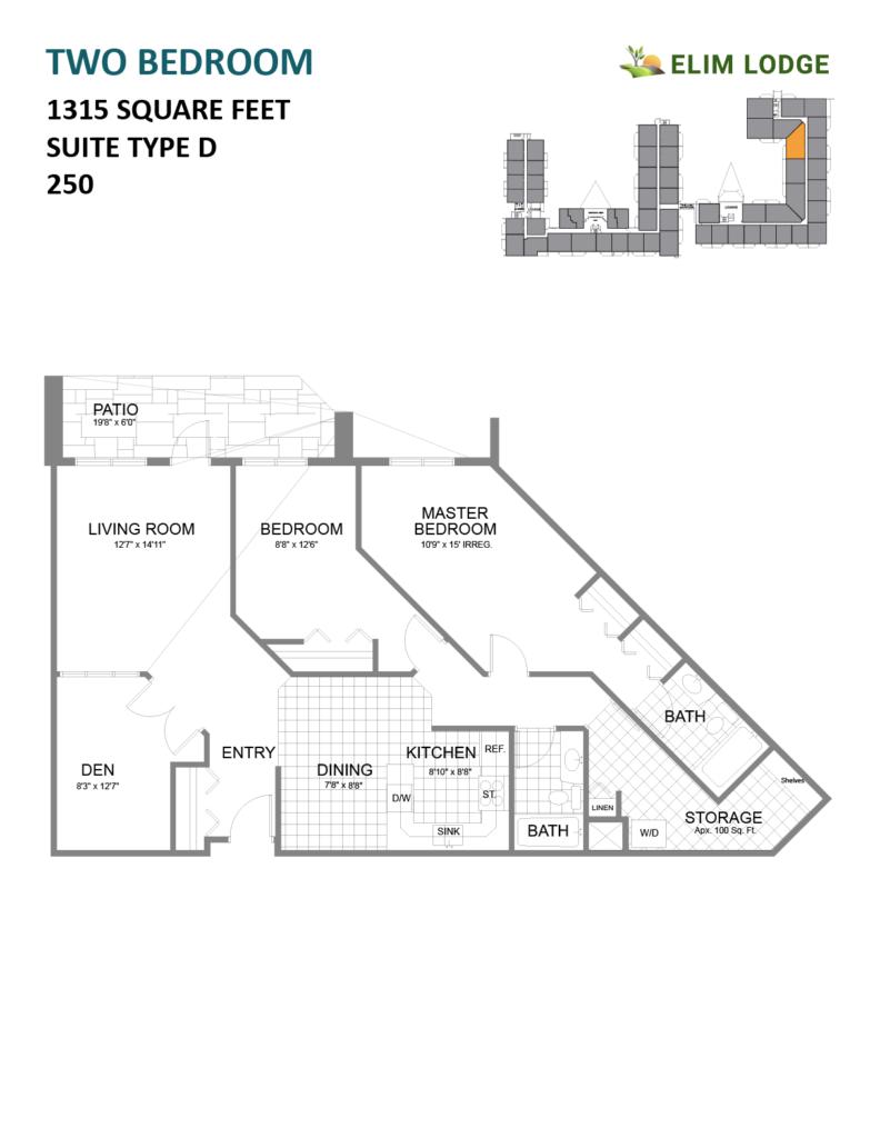Elim Lodge Room 250
