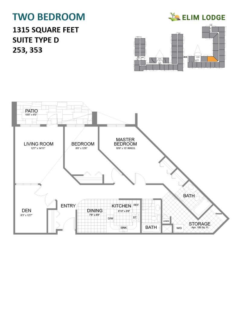 Elim Lodge Senior Suites 253-353