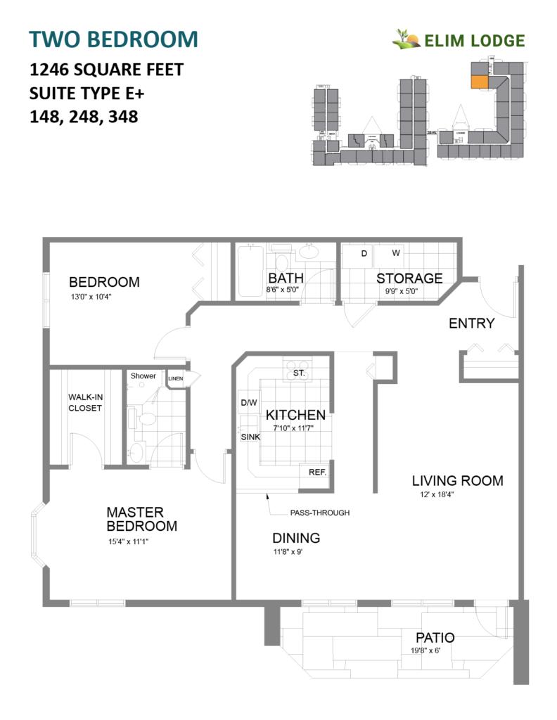 Elim Lodge Suites 148-248-348