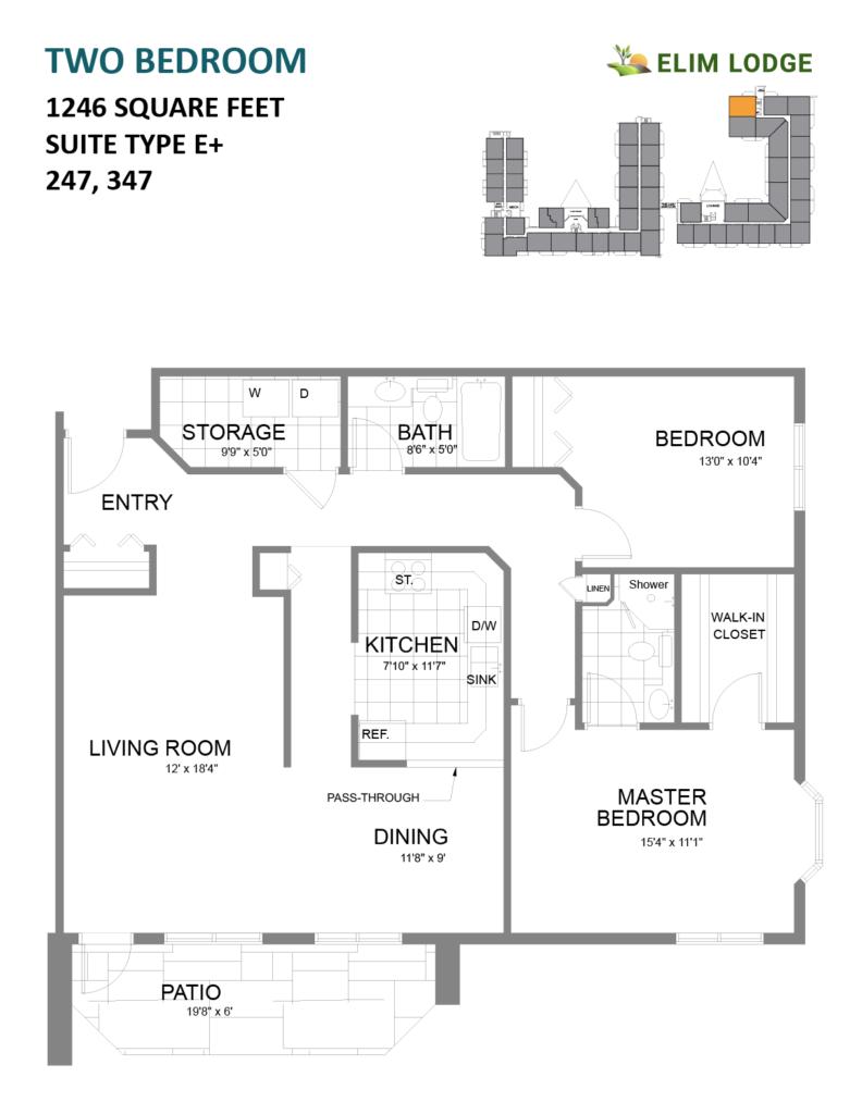 Elim Lodge Suites 247-347