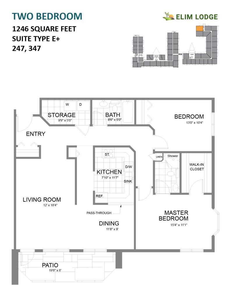 Elim Lodge Rooms 247, 347