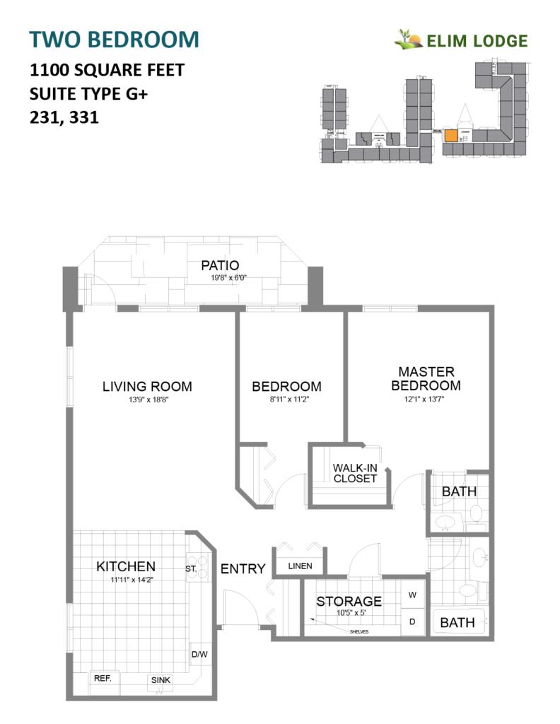 Elim Lodge Rooms 231, 331