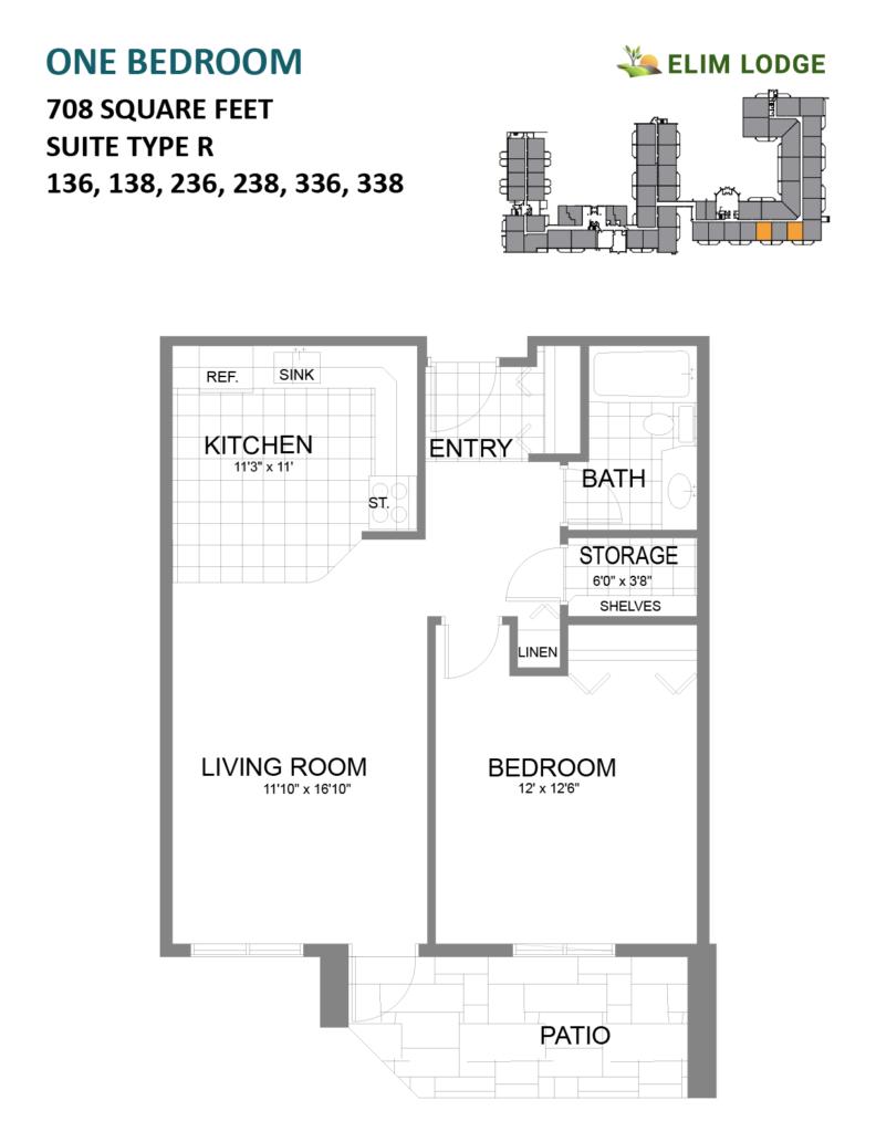 Elim Lodge Room 138