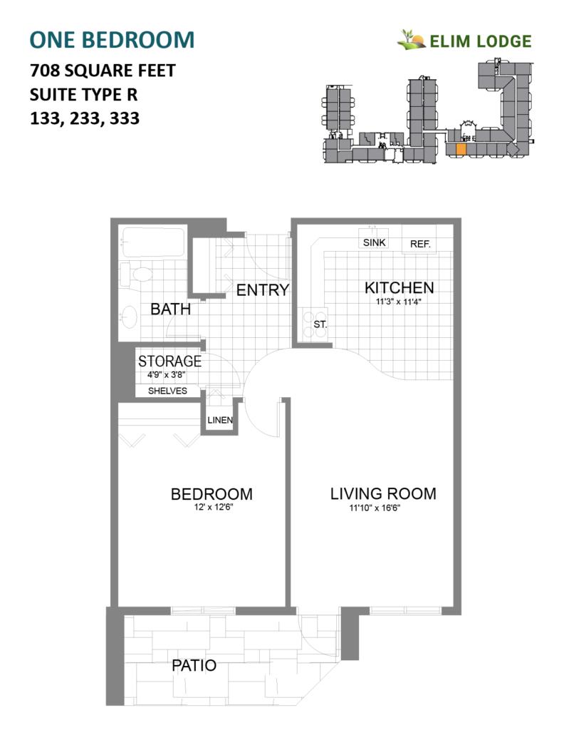 Elim Lodge Room 133